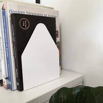 Minimalist Bookend House - Pair
