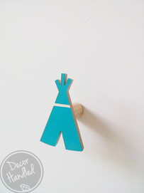 Teepee Wall Handle (Screw in or Removable)