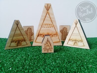 Teepee Decor Block Single