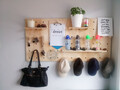 Firsts - Hanging Ply Pegboard 120cm x 60cm PACKAGE - ready to ship