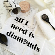 HALF PRICE SALE - Diamonds Teatowel Package