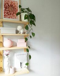 Peg Shelving 90cm tall PAIR