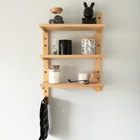 Peg Shelving 60cm tall PAIR