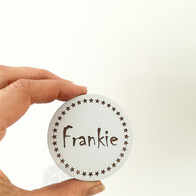 Personalised Engraved Wall Handle