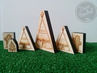 Teepee Decor Block Set