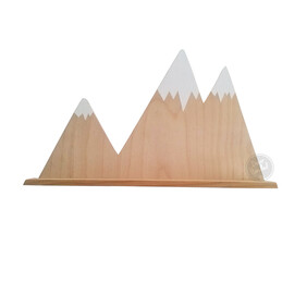 Mountain Peaks Shelf