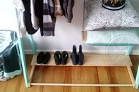 Shoe Shelf for Clothing Racks