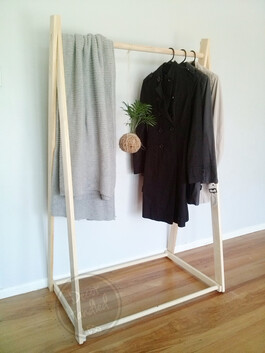 Tall A-frame Clothing Rack