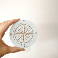 Nautical Compass Drawer Handle