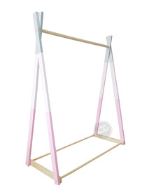 Candy Stripe Clothing Rack