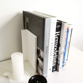 Minimalist Bookends Unique - Pair